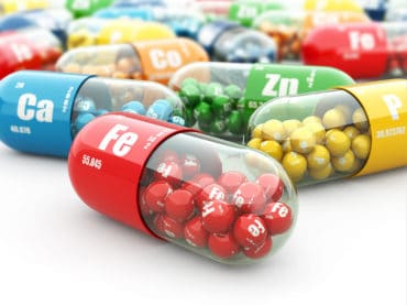 Dietary supplements. Variety pills. Vitamin capsules.